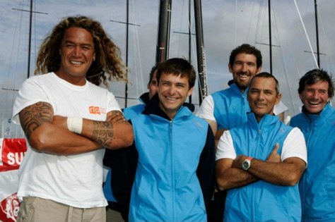 Image: Turo and the marina crew
